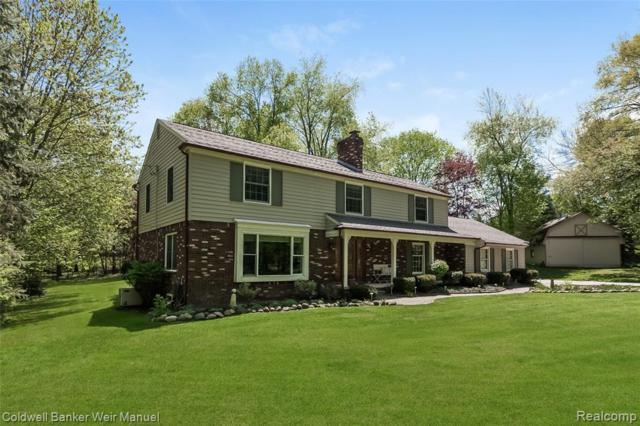 47101 Maplebrook, Northville Twp, MI 48168 (MLS #219044984) :: The Toth Team