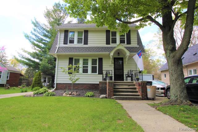 403 Laprairie Street, Ferndale, MI 48220 (#219045342) :: Real Estate For A CAUSE