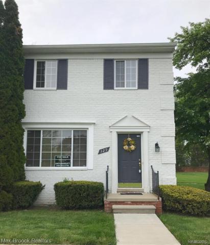 529 Fox Hills Drive N, Bloomfield Twp, MI 48304 (#219046266) :: RE/MAX Nexus