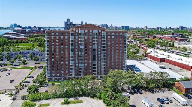 250 E Harbortown Drive #408, Detroit, MI 48207 (#219047393) :: The Buckley Jolley Real Estate Team