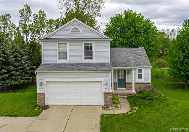6475 Crestview Dr, Holly Twp, MI 48442 (MLS #219048361) :: The Toth Team