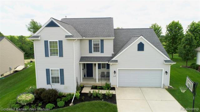 648 Heartwood Lane, Pittsfield Twp, MI 48176 (#219056837) :: The Buckley Jolley Real Estate Team