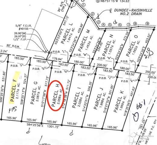 11135 S Custer, Raisinville Twp, MI 48161 (#57031383862) :: Keller Williams West Bloomfield