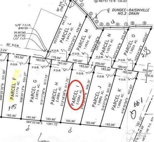 11075 S Custer, Raisinville Twp, MI 48161 (#57031383863) :: Keller Williams West Bloomfield