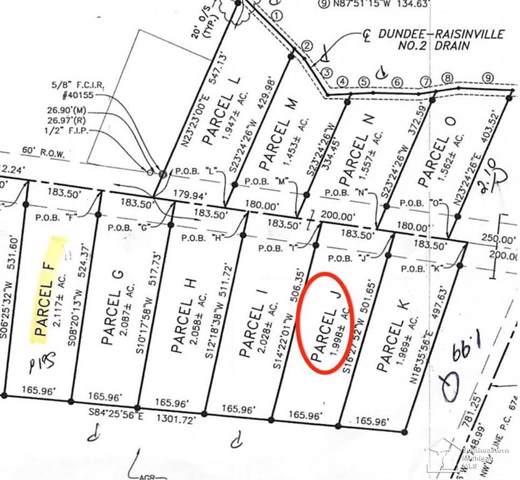11015 S Custer, Raisinville Twp, MI 48161 (#57031383864) :: Alan Brown Group