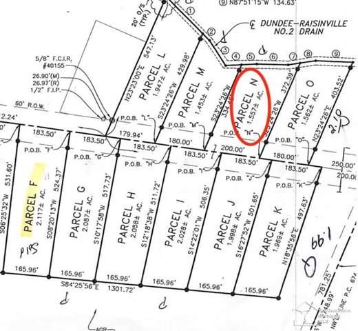 11020 S Custer, Raisinville Twp, MI 48161 (#57031383868) :: Novak & Associates