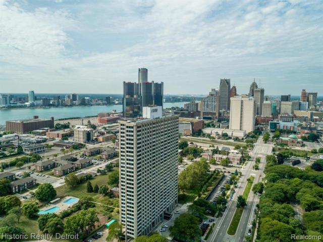 1300 E Lafayette #2110, Detroit, MI 48207 (#219059149) :: The Buckley Jolley Real Estate Team