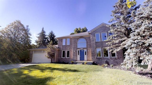 41421 Fawn Trail, Novi, MI 48375 (#219060455) :: Duneske Real Estate Advisors