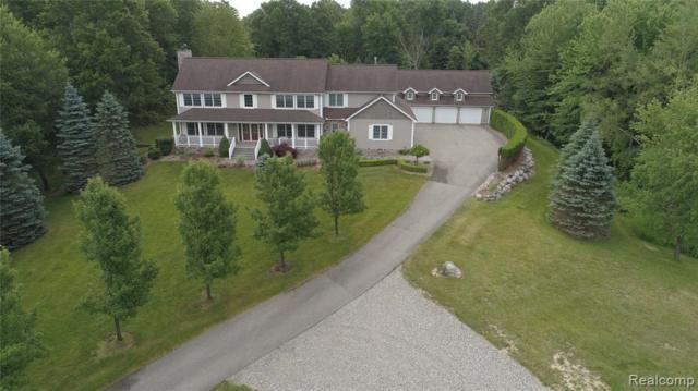 2716 Lake George Road, Addison Twp, MI 48367 (#219060970) :: The Alex Nugent Team   Real Estate One