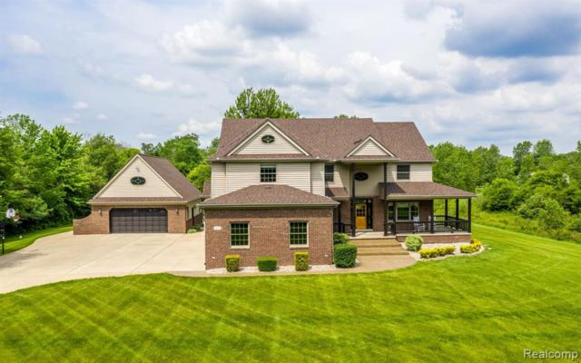 5234 Blue Heron Drive, Almont Twp, MI 48003 (#219061075) :: The Buckley Jolley Real Estate Team