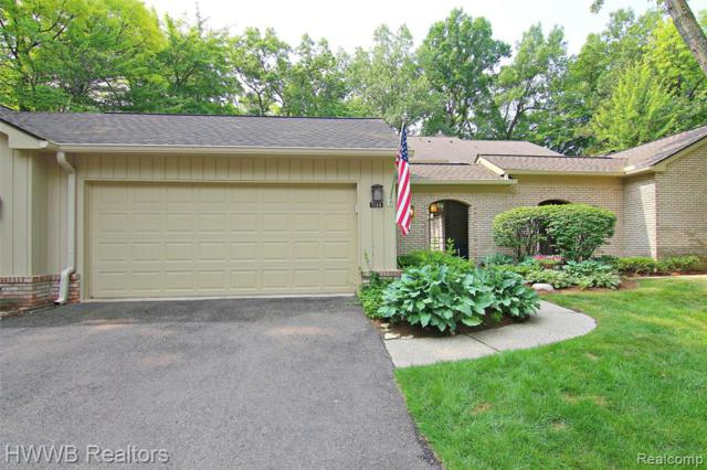 1188 Glenpointe Court, Bloomfield Twp, MI 48304 (#219063531) :: Alan Brown Group