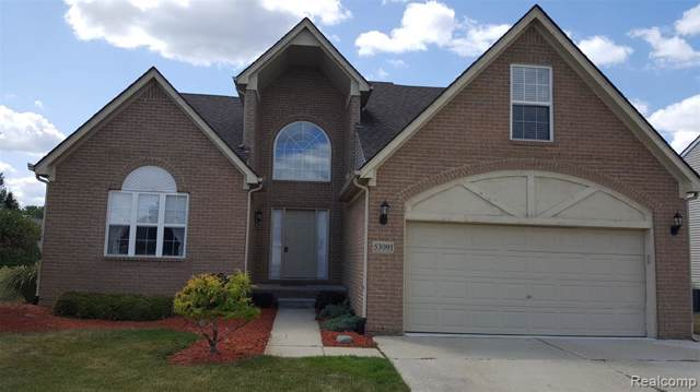 53091 Van Damme Drive, Chesterfield Twp, MI 48051 (#219065596) :: RE/MAX Classic