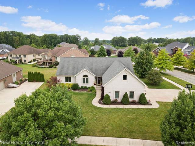 8421 Hunters Ridge Drive, Berlin Twp, MI 48166 (#219073639) :: Alan Brown Group