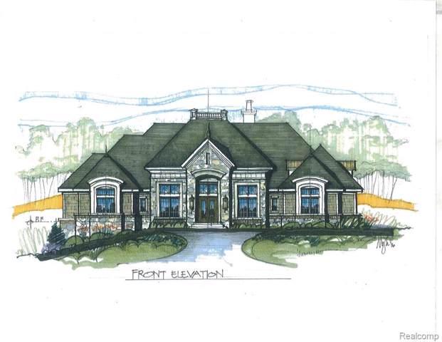 2701 Turtle Ridge Drive, Bloomfield Twp, MI 48302 (MLS #219076599) :: The Toth Team
