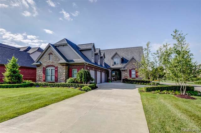 10416 Morning Light Court, Green Oak Twp, MI 48178 (#219081302) :: The Mulvihill Group