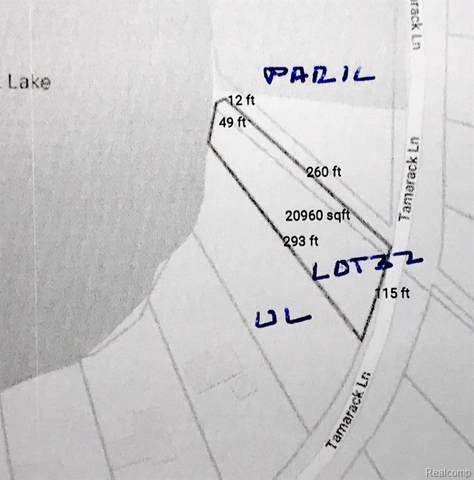00 Tamarack, Oakland Twp, MI 48363 (#219081578) :: The Buckley Jolley Real Estate Team