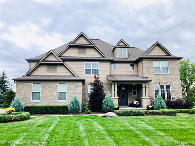 23785 Country Club Drive, Lyon Twp, MI 48178 (#219082439) :: The Buckley Jolley Real Estate Team