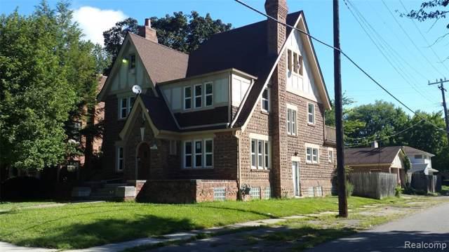 16502 Huntington Road, Detroit, MI 48219 (#219082727) :: The Buckley Jolley Real Estate Team