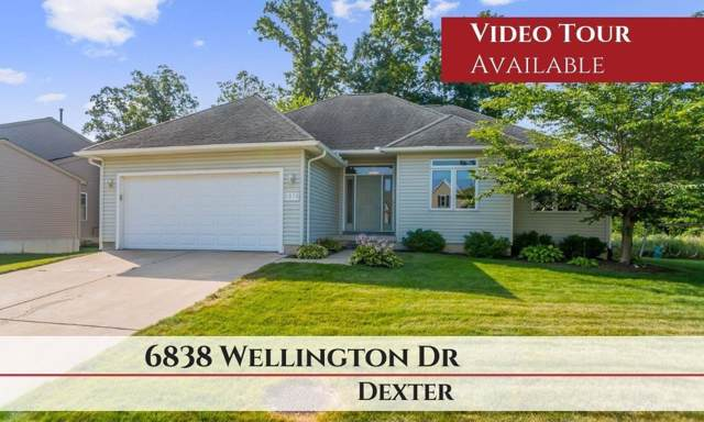 6838 Wellington Drive, Dexter, MI 48130 (#543268086) :: RE/MAX Classic