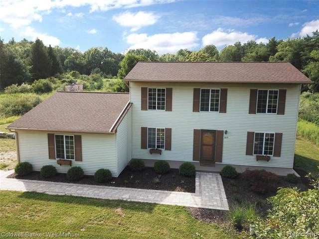 260 Hadley Road S, Brandon Twp, MI 48462 (#219084383) :: The Mulvihill Group