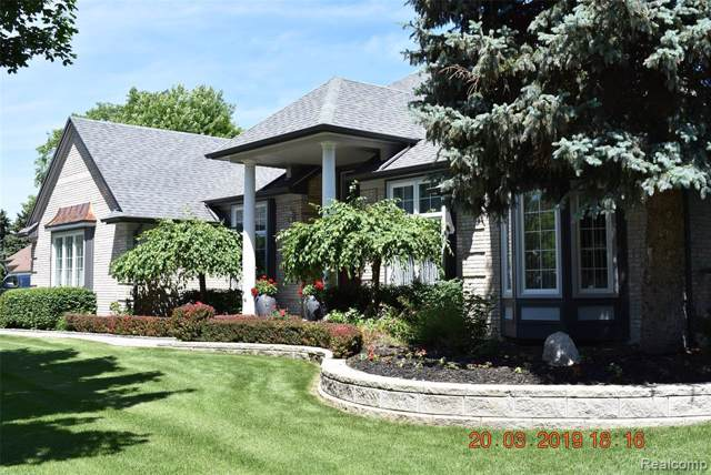 13715 Ironwood Drive, Shelby Twp, MI 48315 (#219084540) :: Alan Brown Group