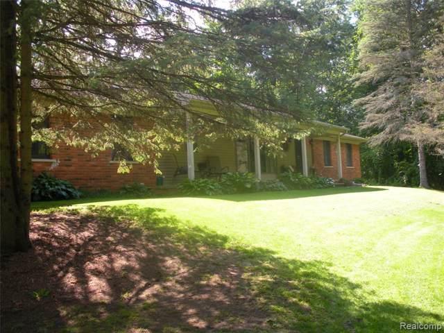5100 Bordman Road, Addison Twp, MI 48428 (#219089206) :: The Buckley Jolley Real Estate Team