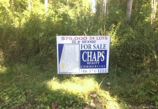 Edgewater Park Sub, Clay Twp, MI 48001 (#58031393264) :: GK Real Estate Team
