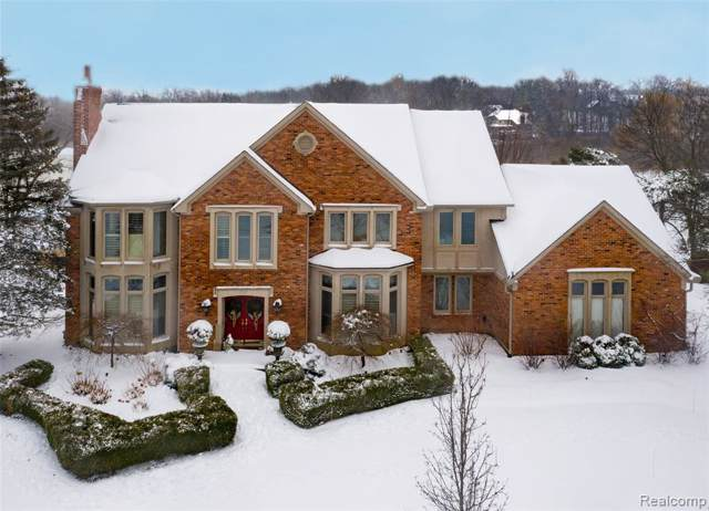 1249 Water Cliff Drive, Bloomfield Twp, MI 48302 (#219091442) :: The Buckley Jolley Real Estate Team