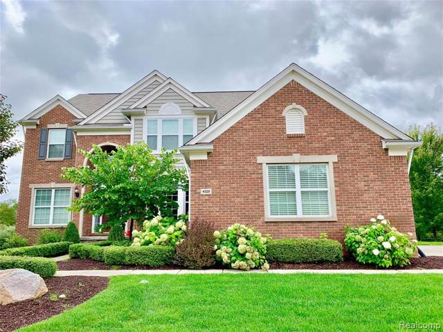 4325 Bluff Pointe, Independence Twp, MI 48348 (#219092546) :: Alan Brown Group