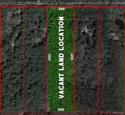 12114 Willard Road, Forest Twp, MI 48464 (MLS #219093721) :: The Toth Team
