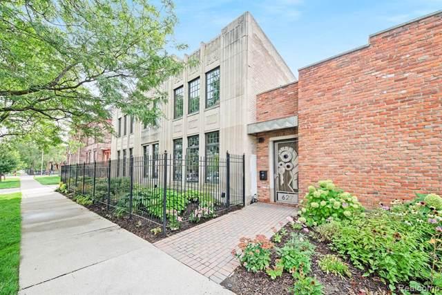 627 W Alexandrine Street #1, Detroit, MI 48201 (MLS #219096203) :: The John Wentworth Group