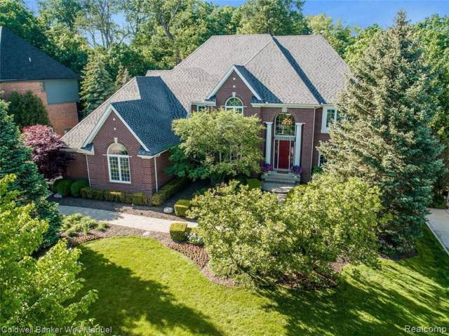 17583 Stonebrook Drive, Northville, MI 48168 (#219097568) :: Duneske Real Estate Advisors
