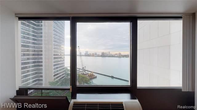 300 Riverfront Drive 11F, Detroit, MI 48226 (#219100879) :: The Buckley Jolley Real Estate Team