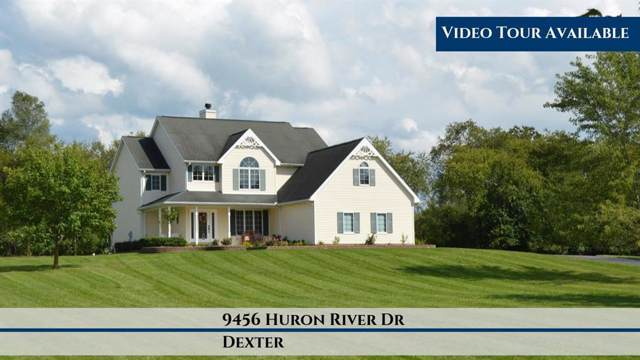 9456 Huron River Drive, Webster Twp, MI 48130 (#543269239) :: The Buckley Jolley Real Estate Team