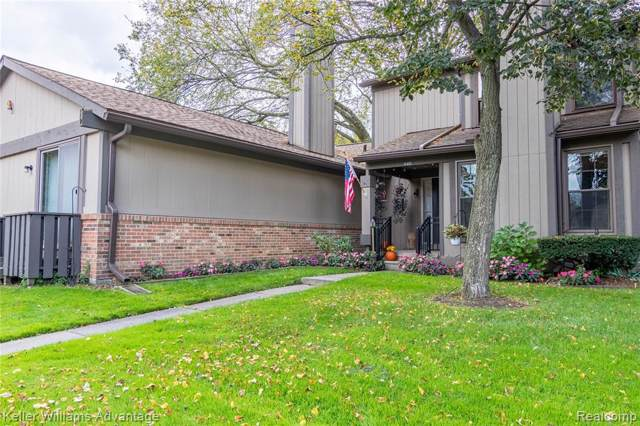 12403 Woodgate Drive #23, Plymouth Twp, MI 48170 (#219105983) :: The Buckley Jolley Real Estate Team