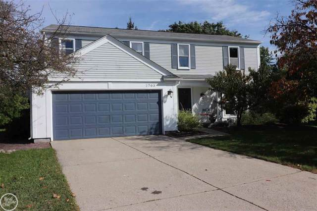 2703 Greenway Cir, Lake Orion, MI 48360 (#58031397697) :: Team Sanford