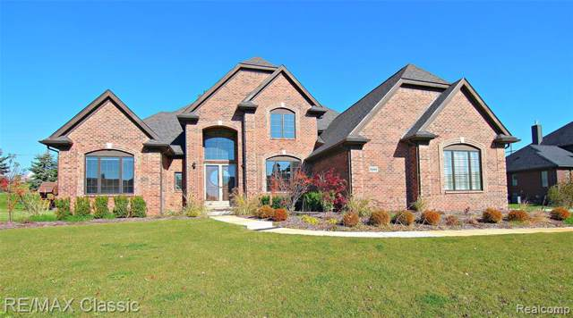 10444 Stoney Point Drive, Green Oak Twp, MI 48178 (#219110566) :: The Mulvihill Group