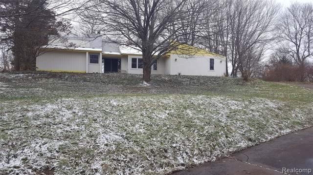 3169 N Tipsico Lake Road, Hartland Twp, MI 48353 (#219116206) :: The Buckley Jolley Real Estate Team