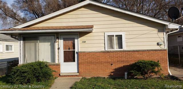 108 Blaine Avenue, Pontiac, MI 48342 (#219116249) :: The Buckley Jolley Real Estate Team