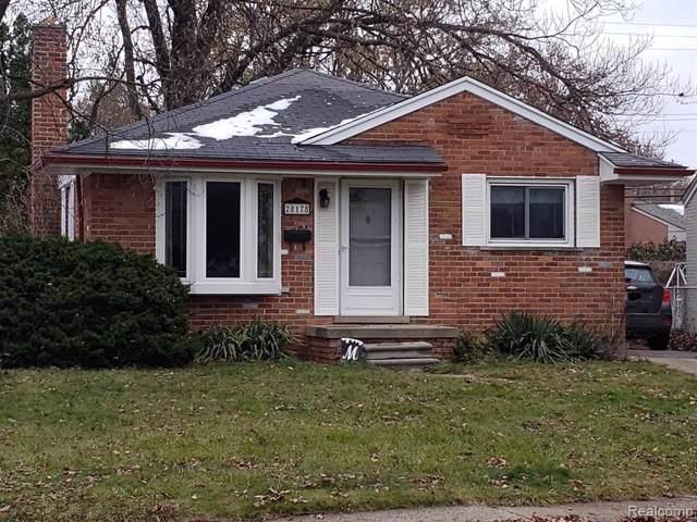 28178 Lorenz Street, Madison Heights, MI 48071 (#219116569) :: Alan Brown Group