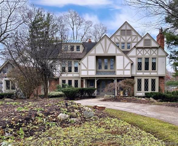 269 Chestnut Circle, Bloomfield Hills, MI 48304 (#219116822) :: Keller Williams West Bloomfield