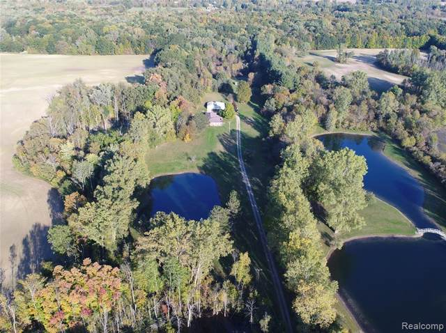 1352 N Lake Pleasant Road, Arcadia Twp, MI 48412 (#219118502) :: Alan Brown Group