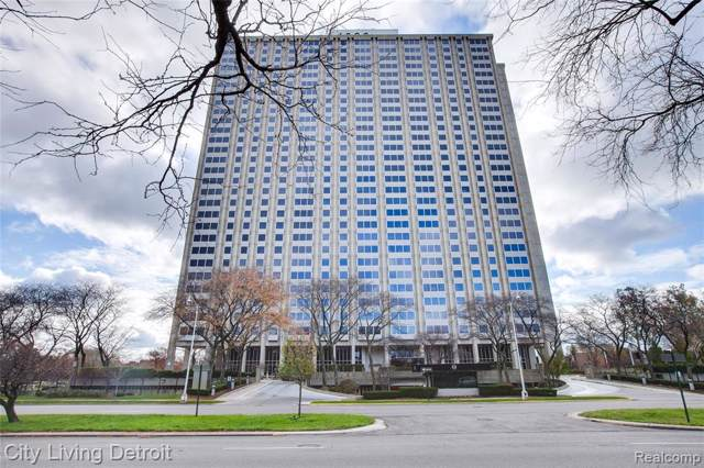 1300 E Lafayette Street #608, Detroit, MI 48207 (#219118934) :: The Buckley Jolley Real Estate Team