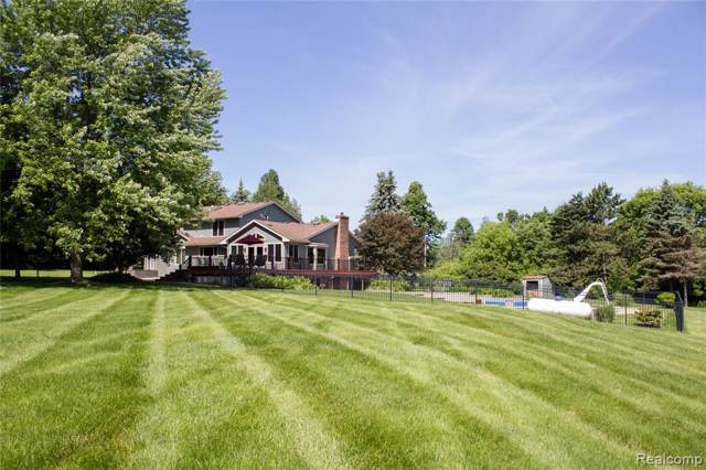 4185 Thornville Road, Dryden Twp, MI 48455 (#2200003031) :: The Buckley Jolley Real Estate Team