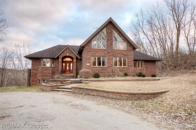 5315 River Ridge Lane, Scio Twp, MI 48103 (MLS #2200003055) :: The Toth Team