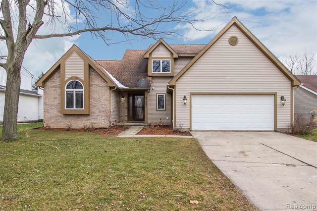 6735 Robison Lane, Pittsfield Twp, MI 48176 (#2200003276) :: The Alex Nugent Team | Real Estate One