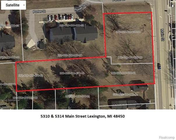 5310 and 5334 Main, Lexington Vlg, MI 48450 (#2200004518) :: The Merrie Johnson Team