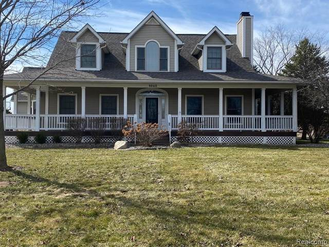 9040 Woodridge Drive, Davison Twp, MI 48423 (#2200005802) :: The Merrie Johnson Team