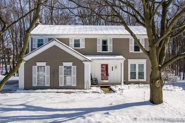 1362 W Fairview Lane, Rochester Hills, MI 48306 (#2200005828) :: Team Sanford