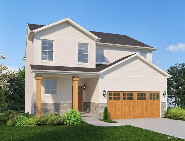 TBD Blackstone Drive (Homesite 3), Marion Twp, MI 48843 (#2200008172) :: Alan Brown Group